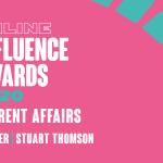 Winner Online Influence Awards